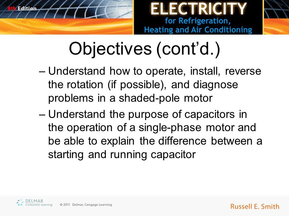 start and run capacitors troubleshooting