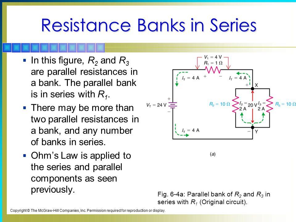 Resistance Banks in Series