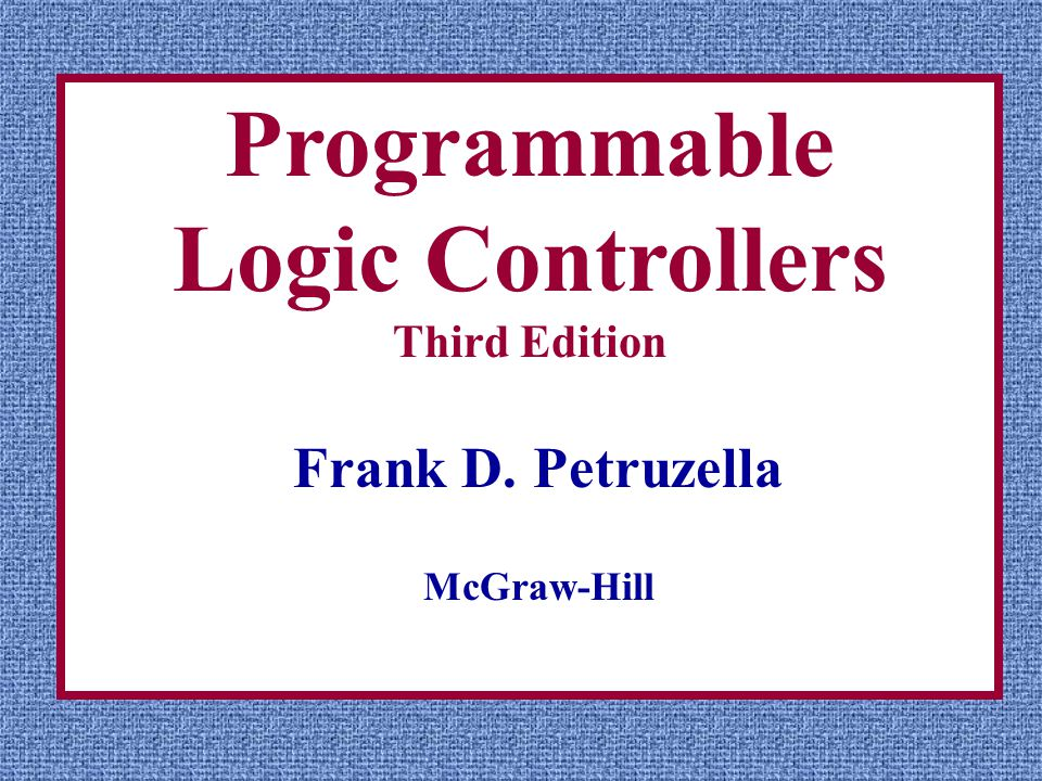 programmable logic controllers 5th edition by frank petruzella pdf