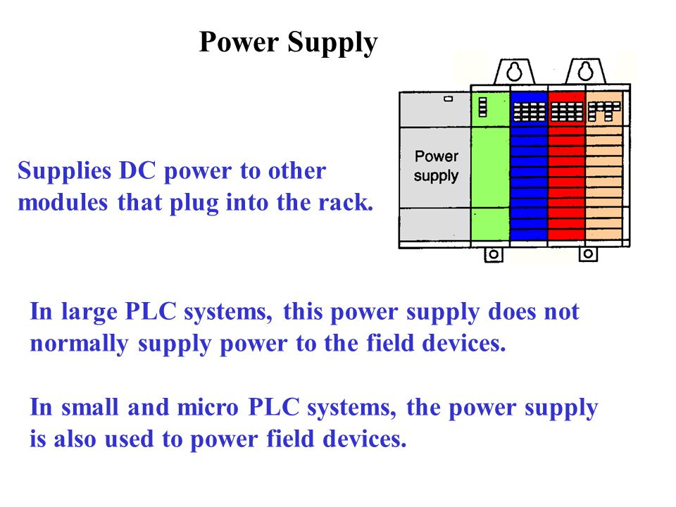 how to connect field devices into plc