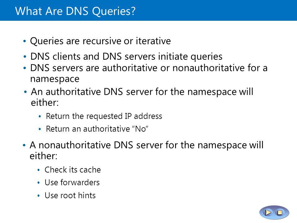 how to find recursive dns server