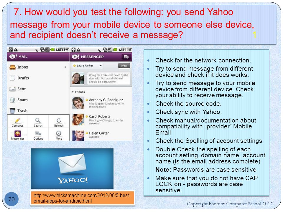 how to change your name on yahoo mail mobile
