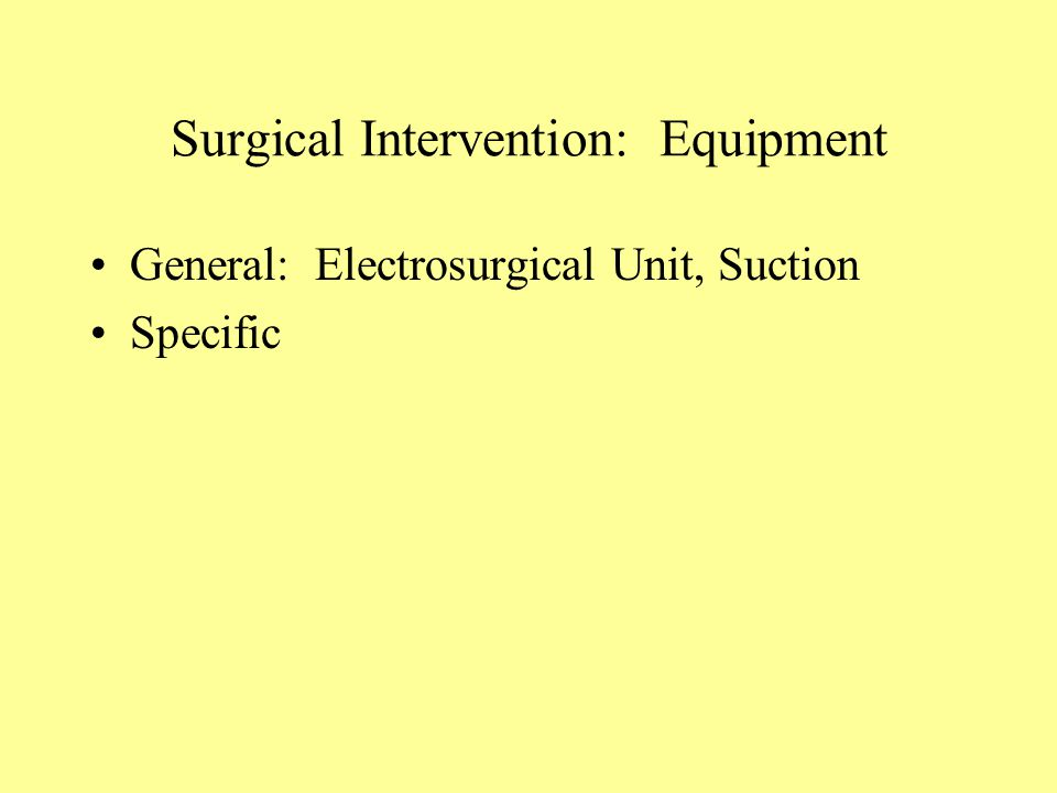 intervening surgical intervention essay Refusal of medical treatment on religious grounds  when faced with patients in need of surgery  the other basis for court intervention is the state ' s .