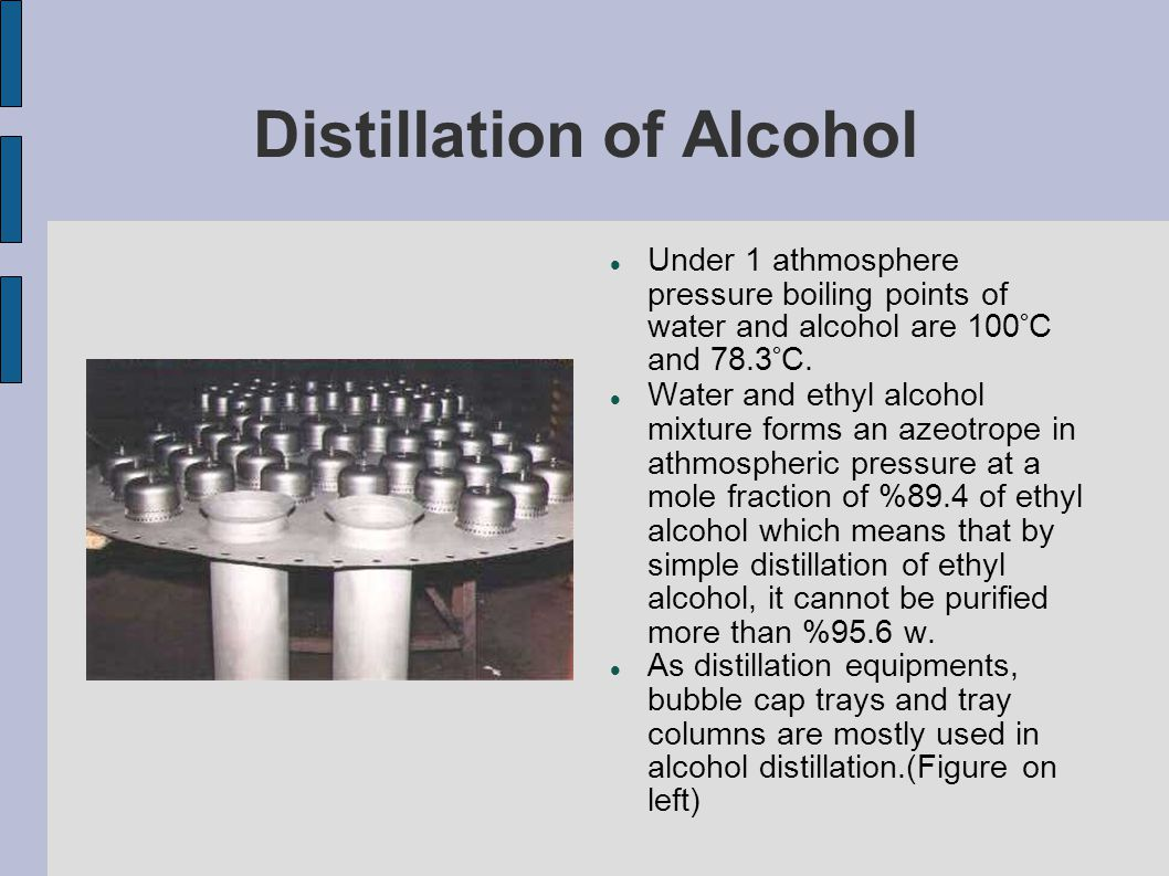 Distillation And Alcohol Production Application Ppt