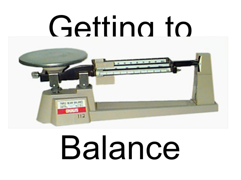 Getting to Know the Triple Beam Balance