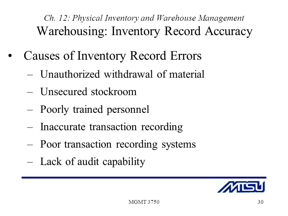 Financial impact of the accuracy - Inventory Optimization Software