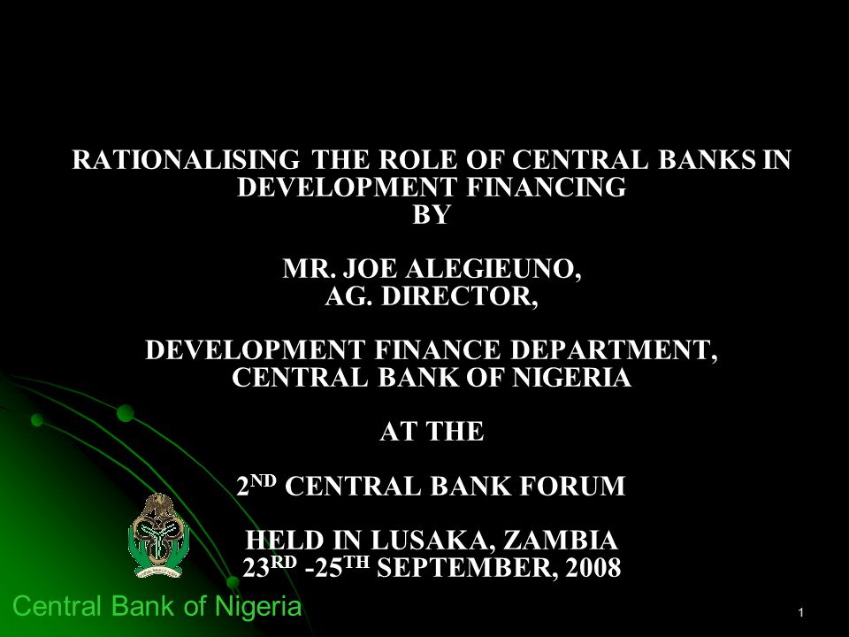 the role of central bank in Economicsapplied economicsmonetary economics174655  role of central bank add remove 1 how does the central bank control bank lending.