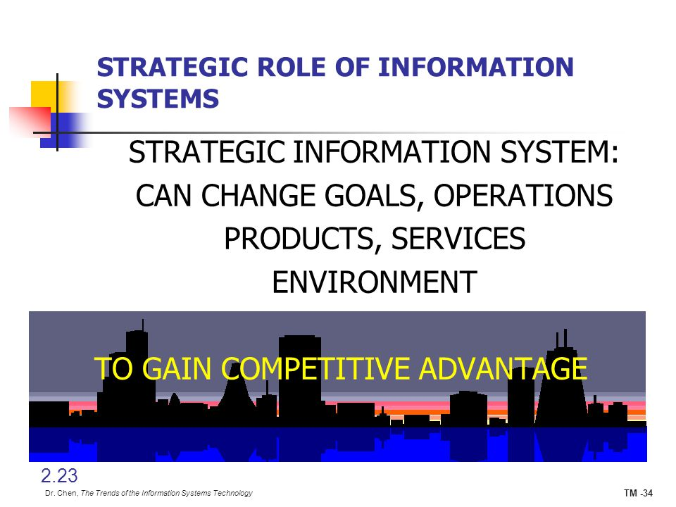 strategic role of information systems essay Growth in modern organizations, information technology (it) plays a significant  role in  strategies and best practices so that they may derive the most from their .