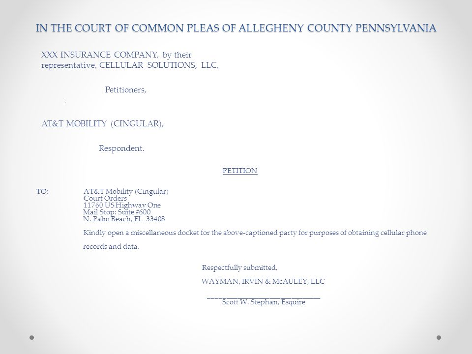 Civil | Home - Allegheny Courts