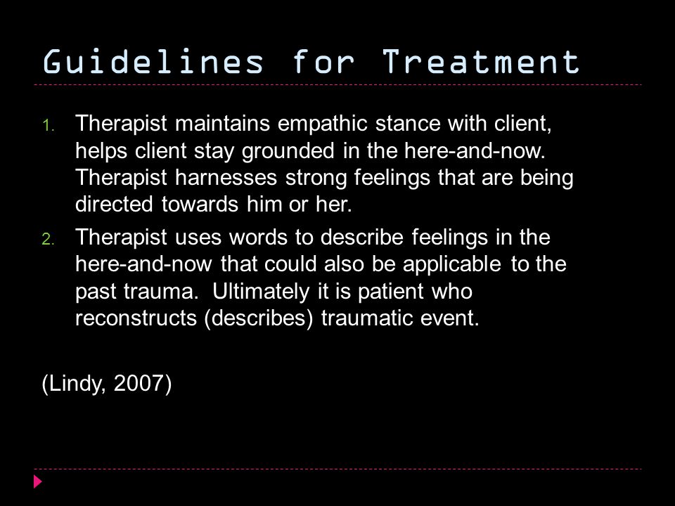 therapists sexual feelings towards client