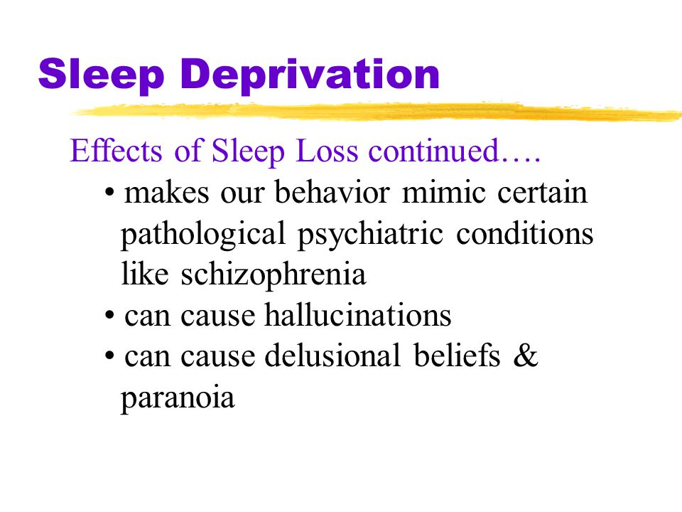 psychological effects one can have due to sleep deprivation essay Widely known are also some other psychological effects of continuous sleep  as it can be seen, insomnia, or sleep deprivation,  a cause and effect essay,.