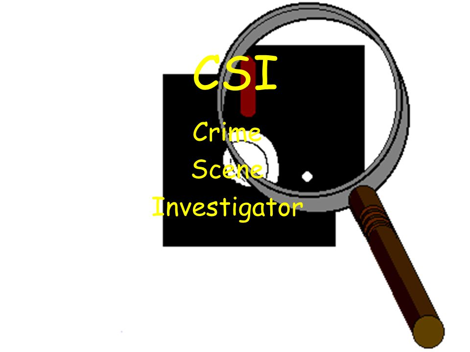 crime scene investigator 1 Page 1  a crime scene is any physical scene, anywhere, that may provide  potential evidence  forensic investigators identify those traces and analyse  them to.