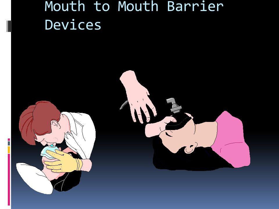 Mouth to Mouth Barrier Devices