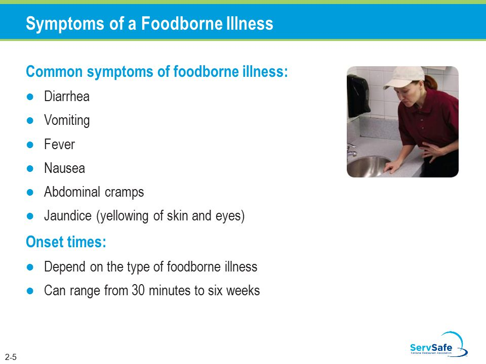 Foodborne Illnesses A Foodborne Illness Is A Disease Transmitted To People Through Food An