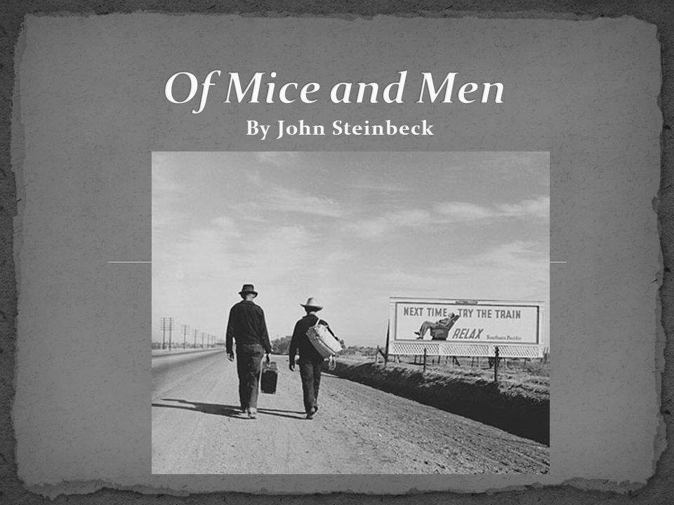 the character theme in the novel of mice and men by john steinbeck The character lennie in of mice and men is not aware in john steinbeck's of mice and men know the story in of mice and men understand the themes of this novel.