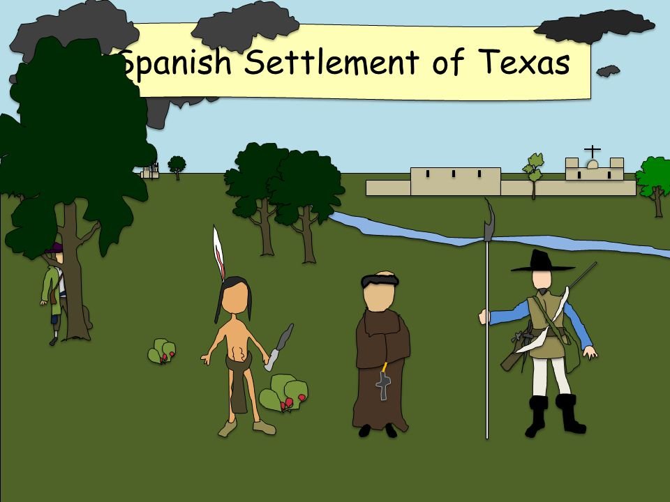 spanish settlements in texas The official website for the alamo in san antonio, texas  spanish missionary  as a site for a mission waypoint on the road to spanish settlements in east texas.