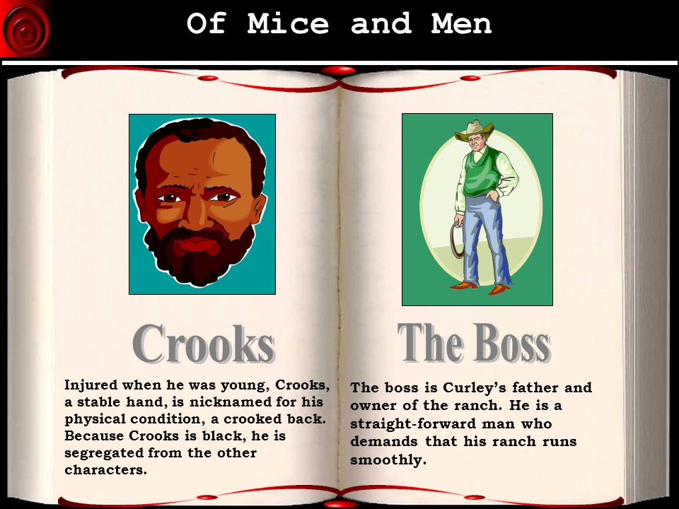 of mice and men crooks essay plan