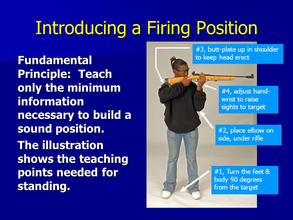Introducing a Firing Position