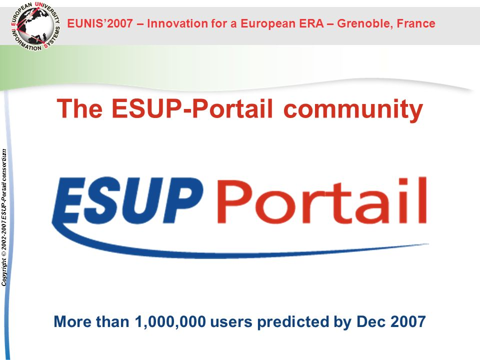 The ESUP-Portail community