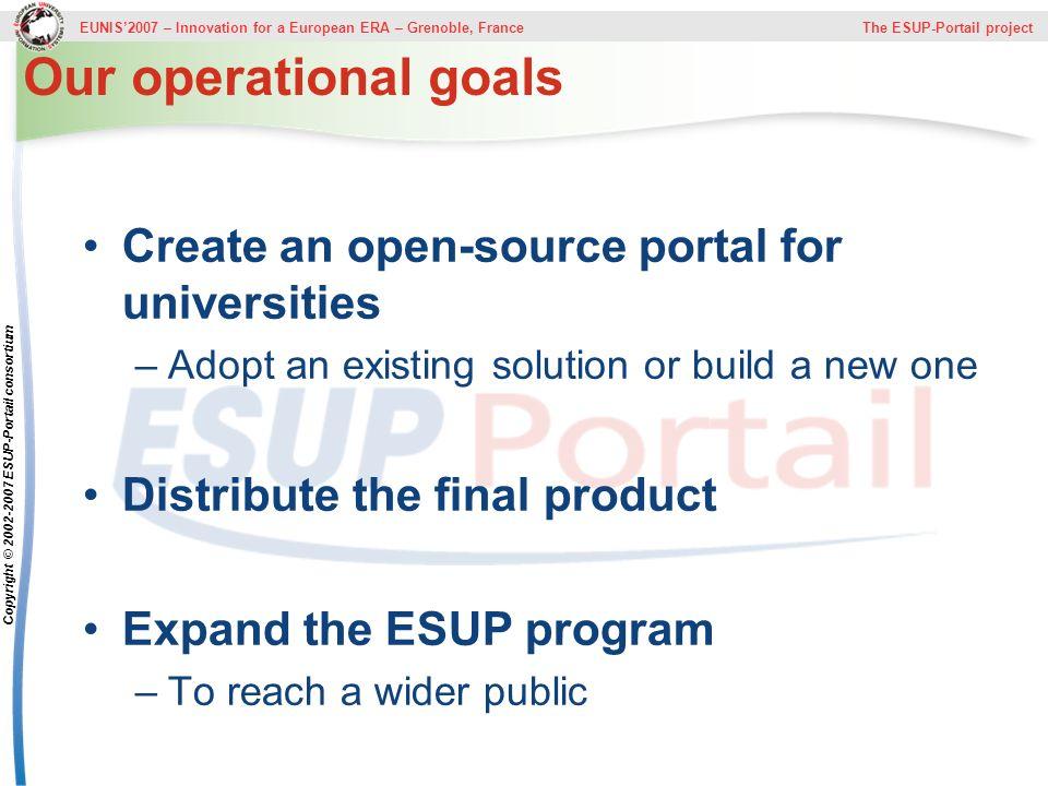 Copyright © 2002-2007 ESUP-Portail consortium