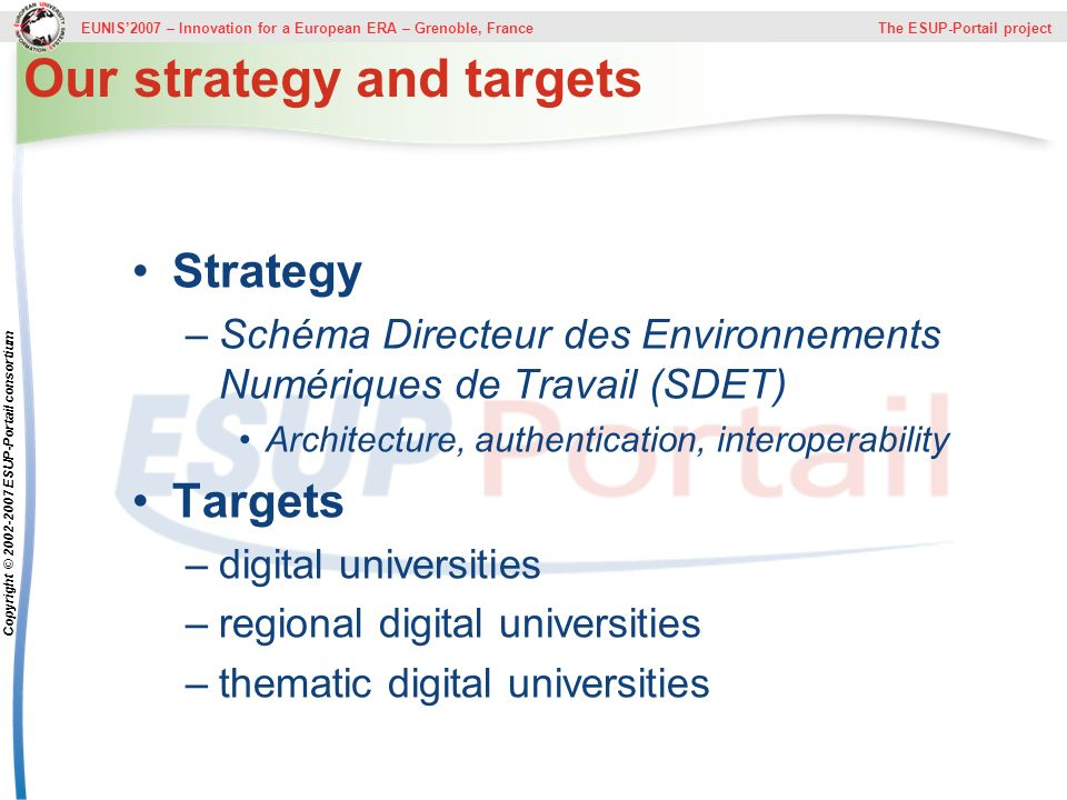 Our strategy and targets