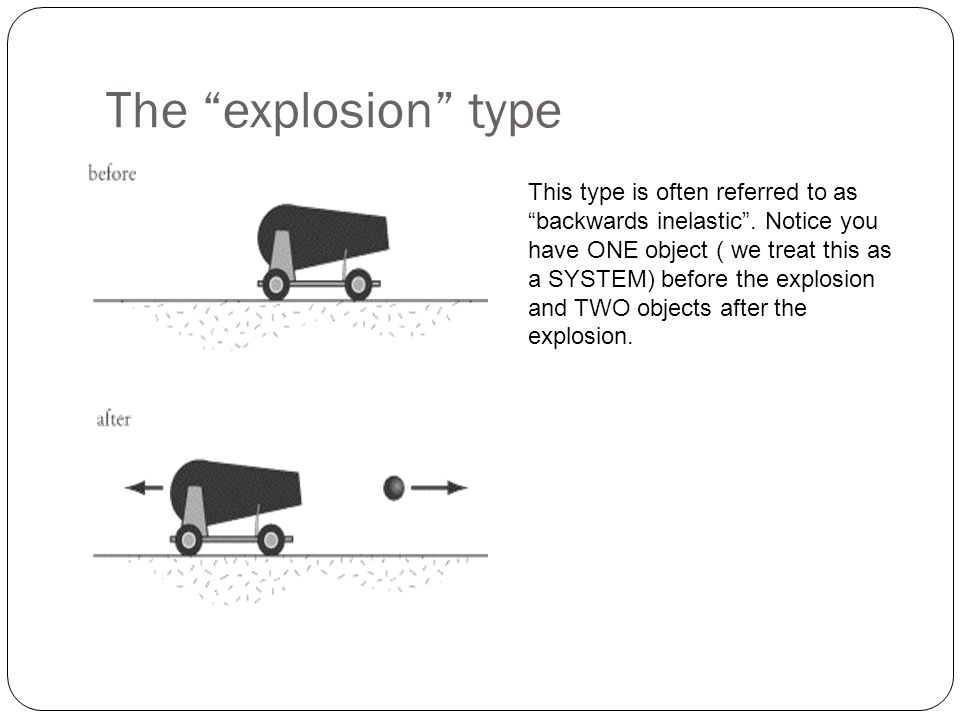 The explosion type