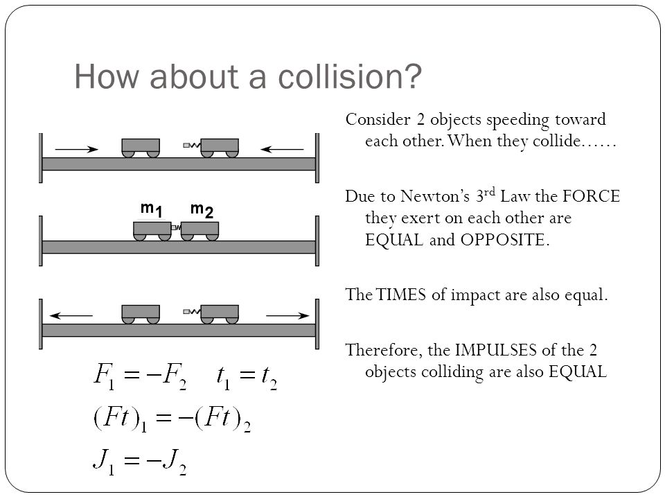 How about a collision