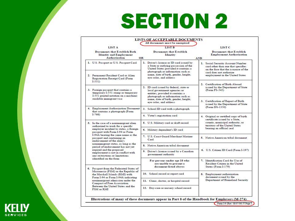 Form I-9 INSTRUCTIONS for FedEx Representatives - ppt download