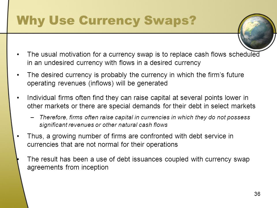 Why Use Currency Swaps