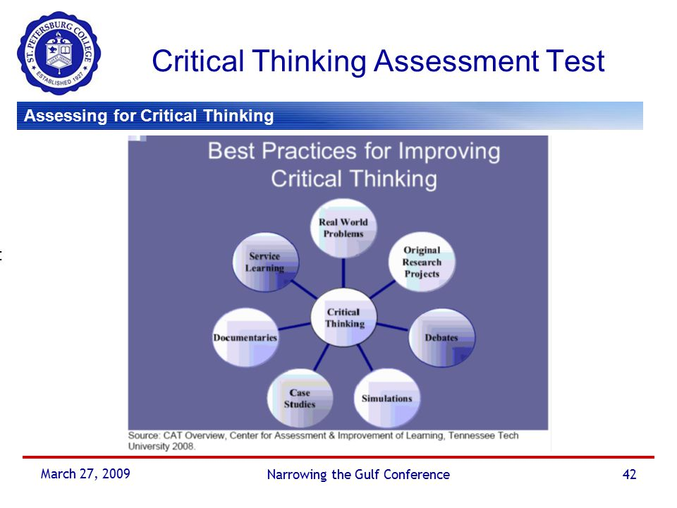 critical thinking assessment test cat It encourages critical thinking, improves reasoning skills, and offers test-taking tips for success spectrum test practice offers an authentic assessment experience with comprehensive practice tests for ela and math.