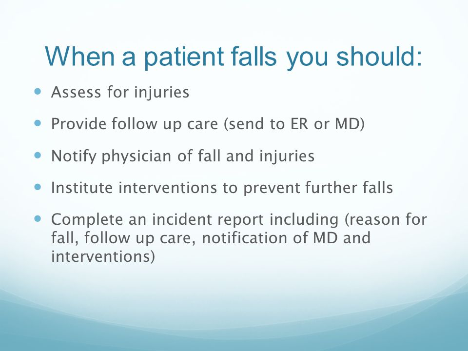 Falls Risk Assessment And Planning  Ppt Video Online Download