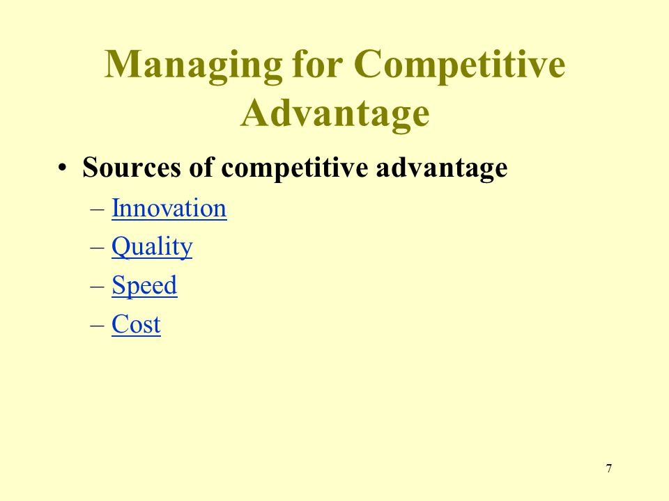 what national sources of competitive advantage 9) the us has one of the most competitive economies - in the latest competitiveness survey from the world economic forum, the us slipped to seventh place, down two spots, according to the .