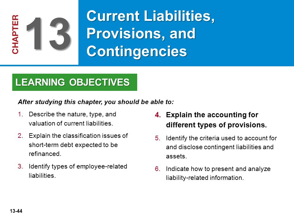 provisions and contingencies This video explains how to account for loss contingencies in the context of financial accounting the example of a pending lawsuit is provided to illustrate.