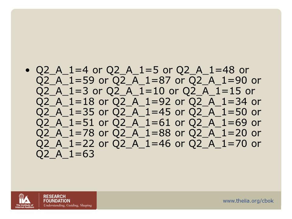 Q2_A_1=4 or Q2_A_1=5 or Q2_A_1=48 or Q2_A_1=59 or Q2_A_1=87 or Q2_A_1=90 or Q2_A_1=3 or Q2_A_1=10 or Q2_A_1=15 or Q2_A_1=18 or Q2_A_1=92 or Q2_A_1=34 or Q2_A_1=35 or Q2_A_1=45 or Q2_A_1=50 or Q2_A_1=51 or Q2_A_1=61 or Q2_A_1=69 or Q2_A_1=78 or Q2_A_1=88 or Q2_A_1=20 or Q2_A_1=22 or Q2_A_1=46 or Q2_A_1=70 or Q2_A_1=63
