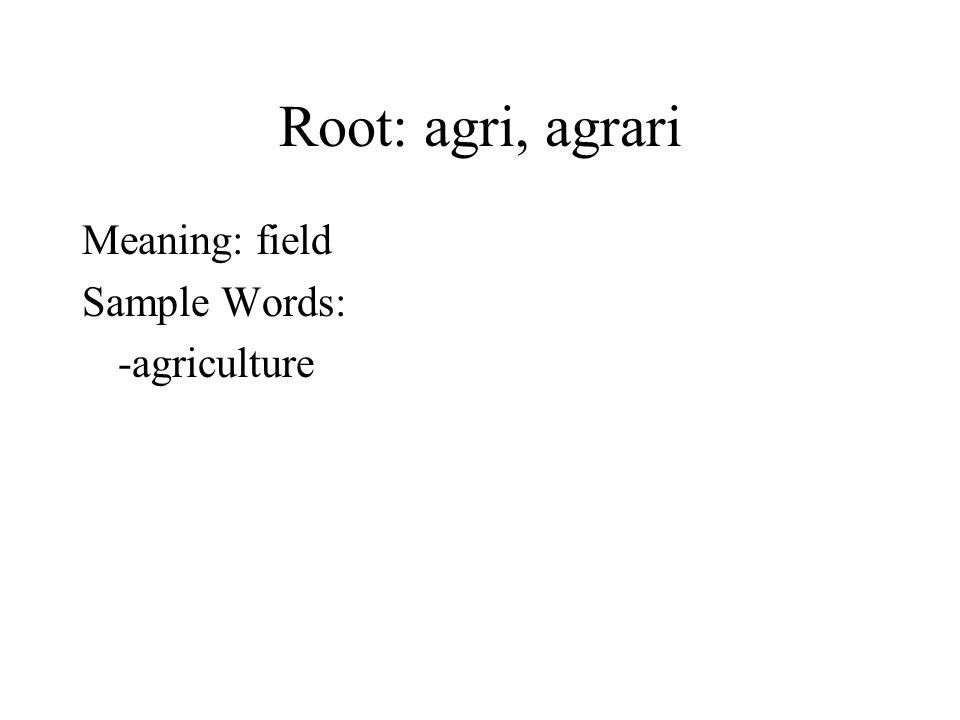 Latin roots 8 mrs lucidi english ppt video online download for Soil meaning in english