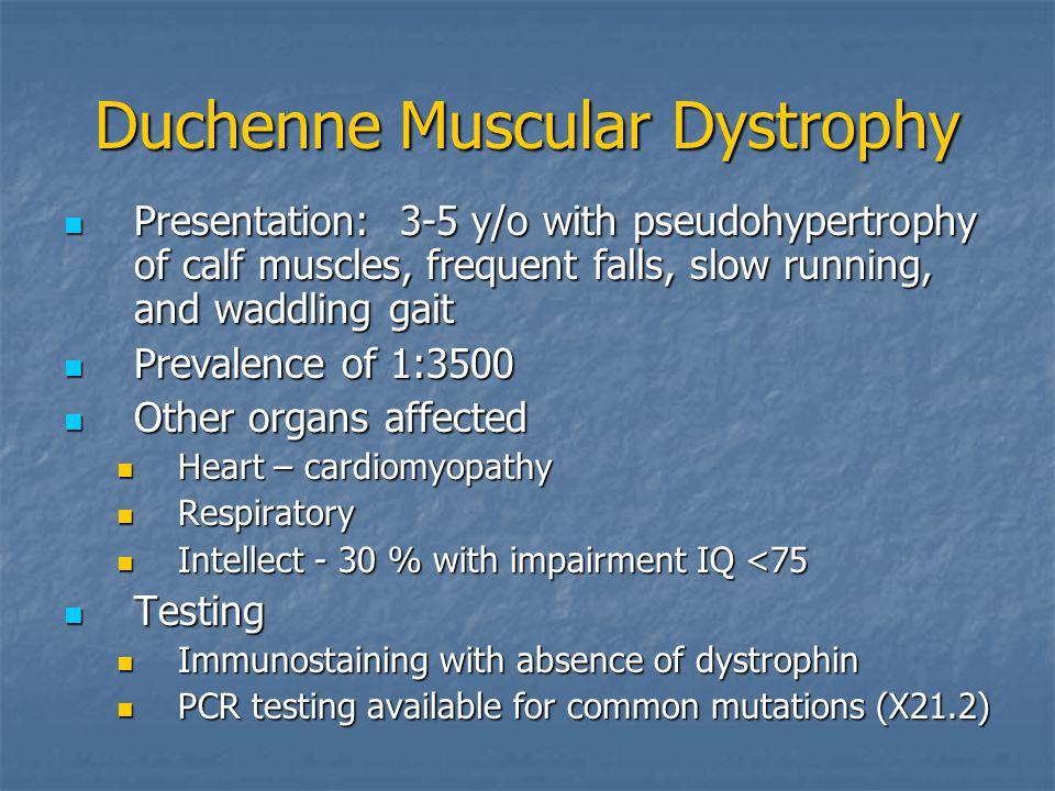 duchenne muscular dystrophy diagnosis pdf