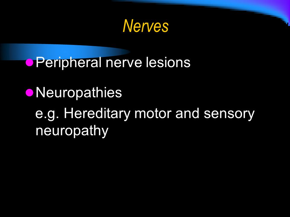 Ppt download Hereditary motor neuropathy
