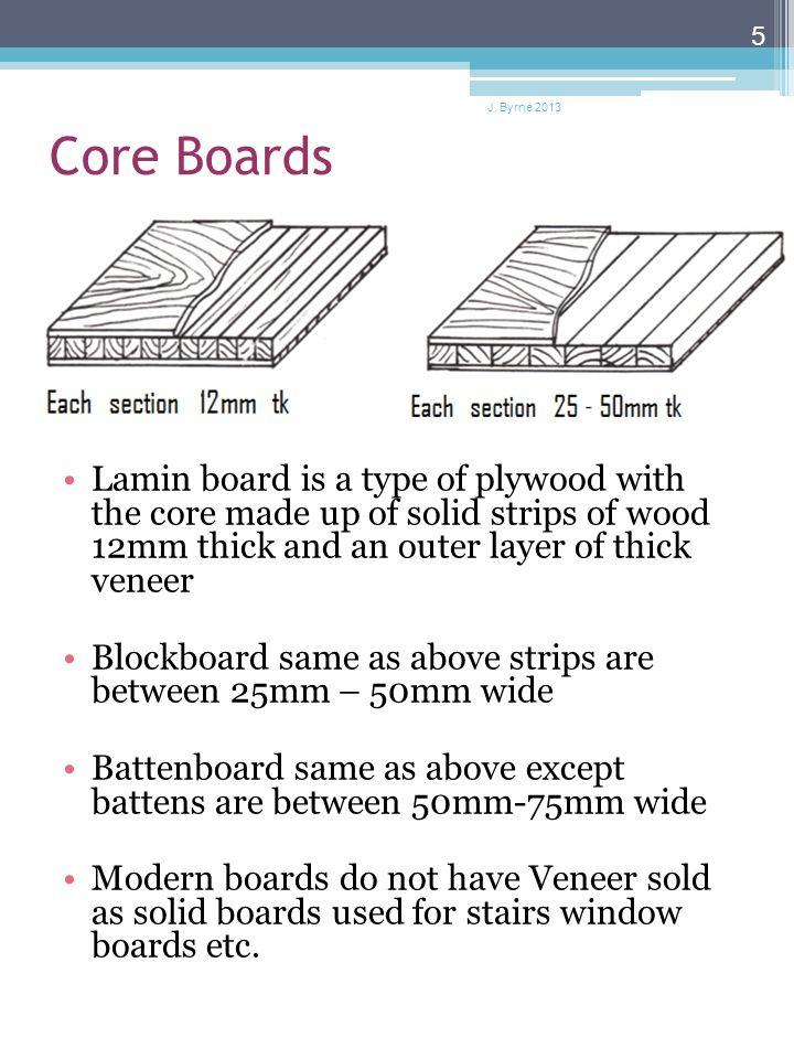 Manufactured Boards J Byrne 2013 Manmade Boards Ppt