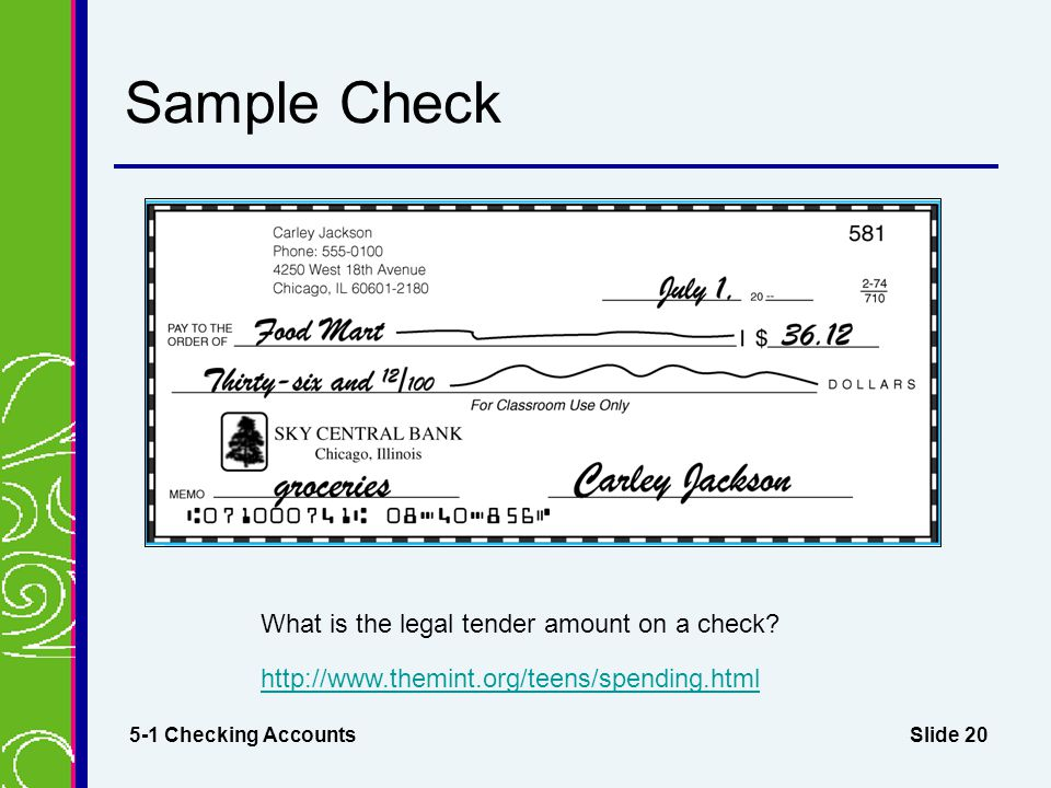 How to write a check to an attorney