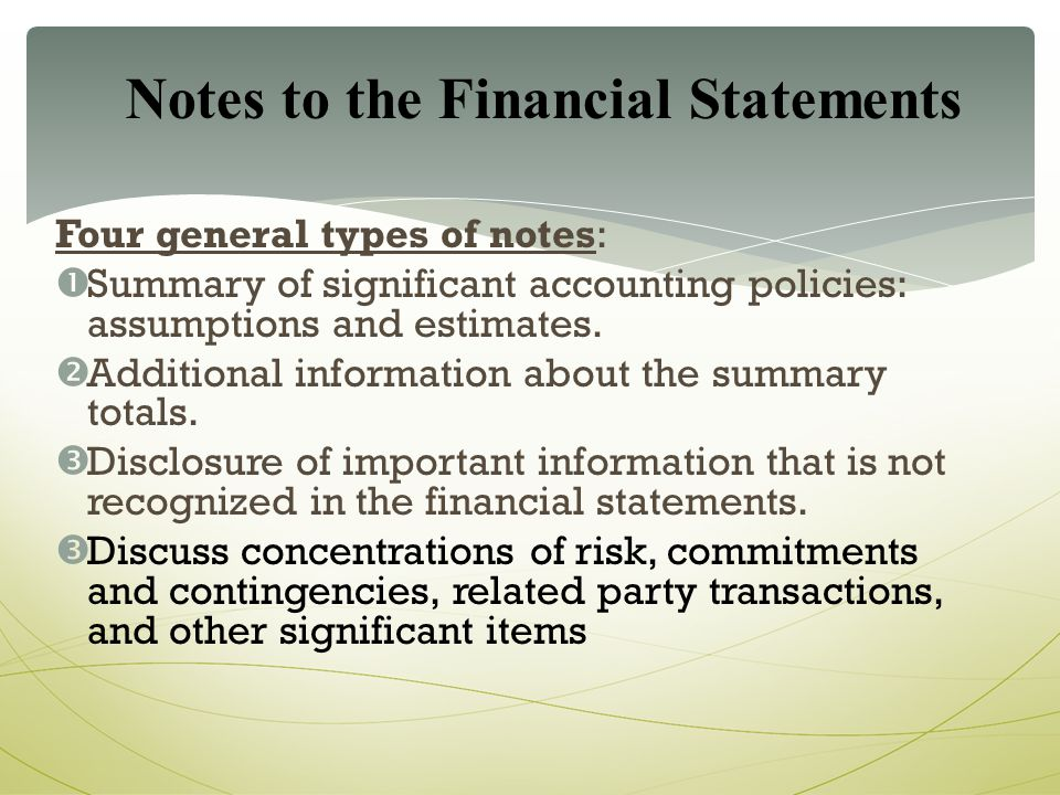 Understanding And Using Financial Statements - Ppt