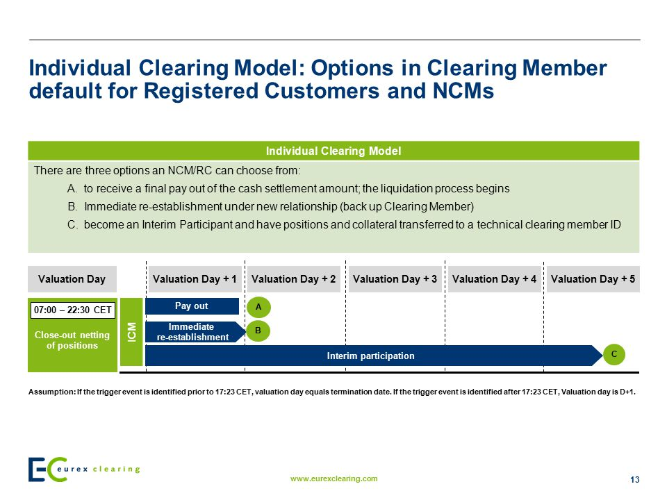 Individual Clearing Model