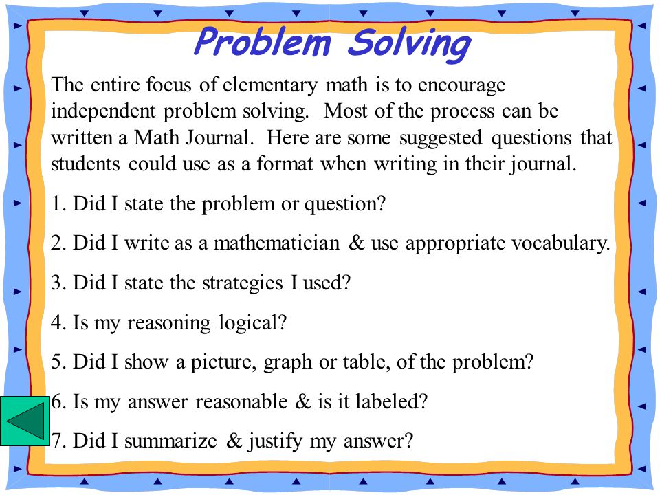 When To Use Problem Solving