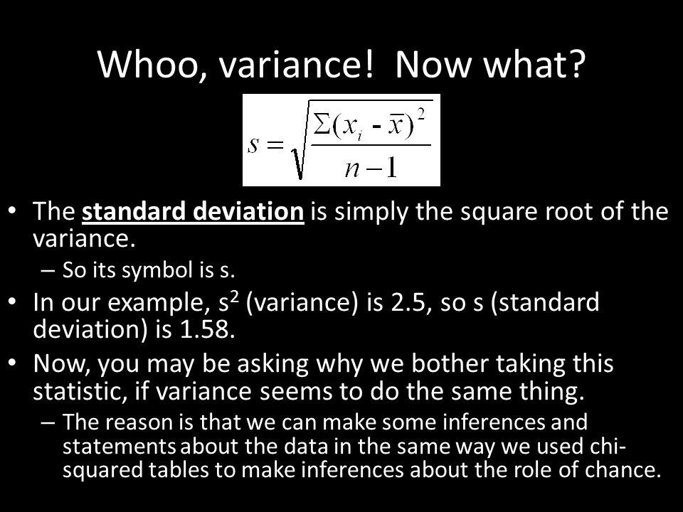 Standard Deviation And Standard Error Tutorial Ppt Download