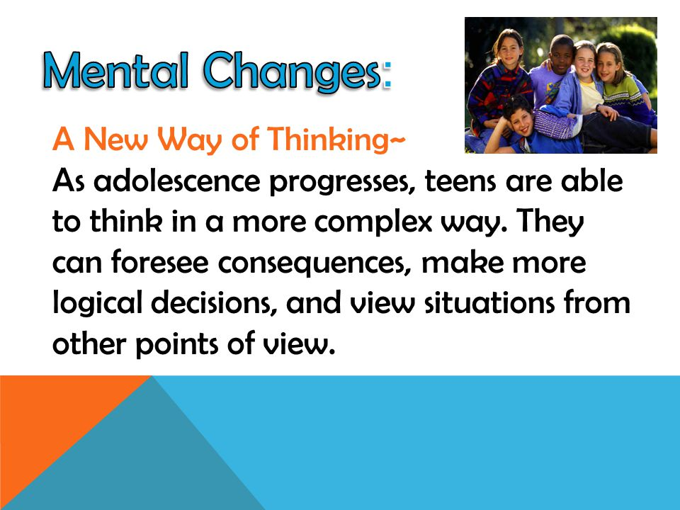 Mental Changes: A New Way of Thinking~