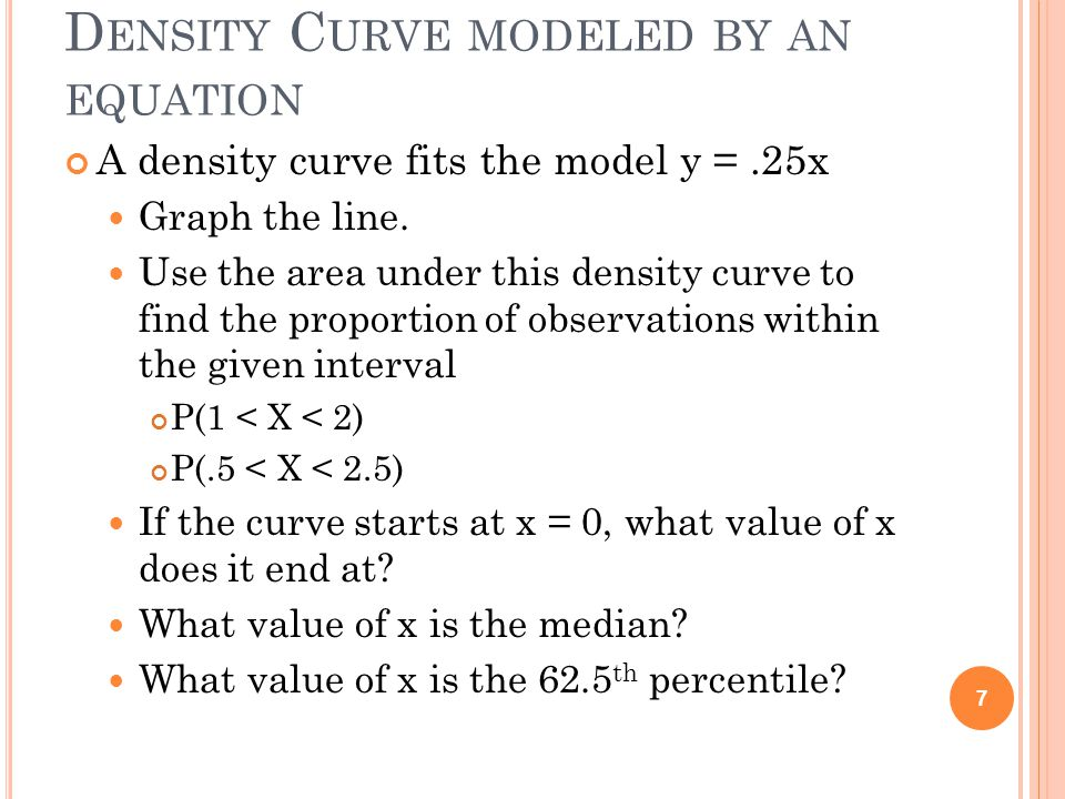 Chapter 2 the normal distributions ppt video online download 7 density ccuart Images