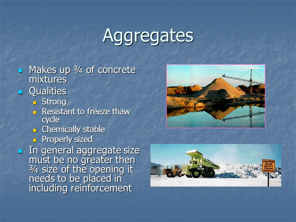 Concrete ppt video online download for What happens to concrete if it freezes