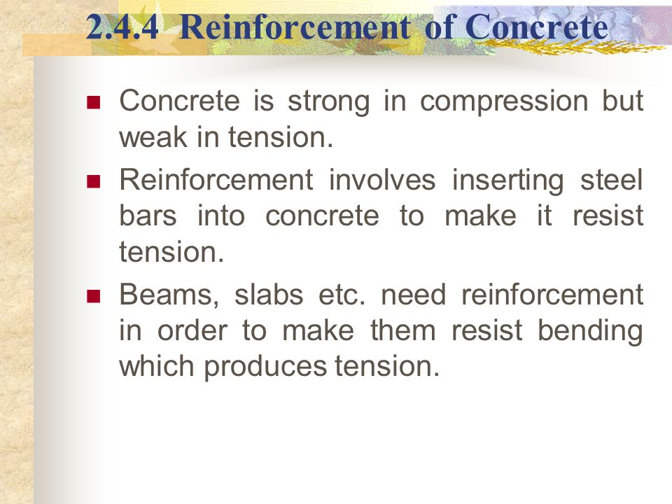 how to make surface of concrete strong
