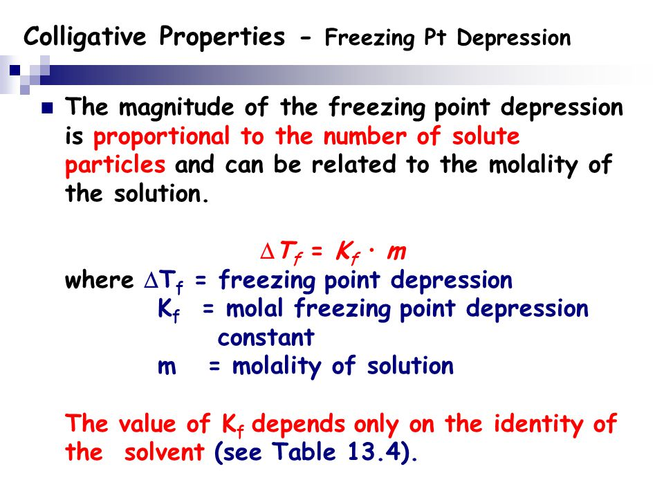 colligative properties of solutions pdf
