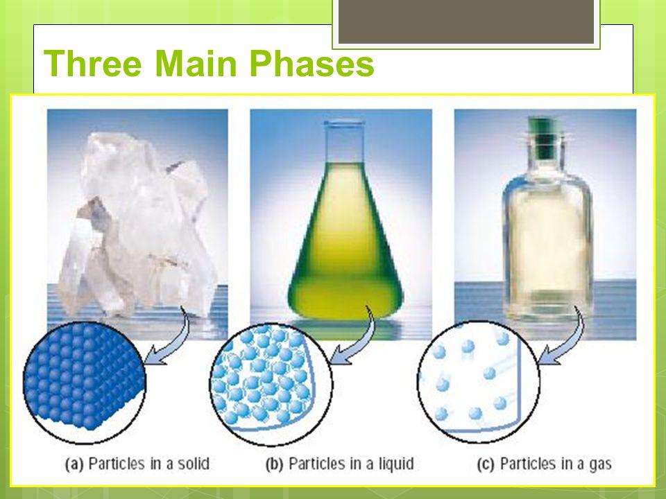 Three Main Phases