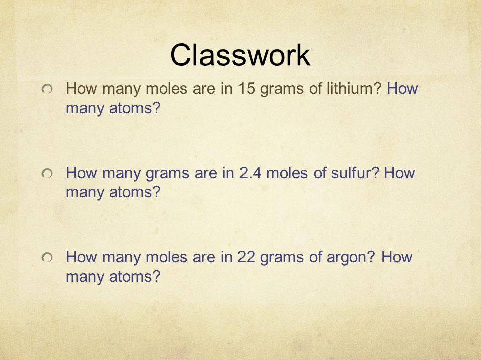 Argon How Many Moles Are In 22 Grams Of Argon – Mole Calculation Worksheet
